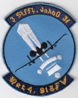 USAF Patch Fighter USAFE 81 TFW Tactical Ftr Wing g A 10 Det 4 d