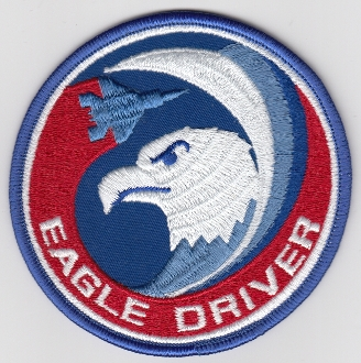 USAF Patch Fighter USAFE 32 TFS Tactical Ftr Squadron h F 15 Da