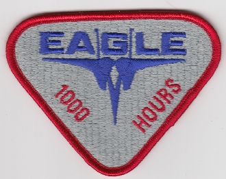 USAF Patch Fighter USAFE 32 TFS Tactical Ftr Squadron h F 15 H1