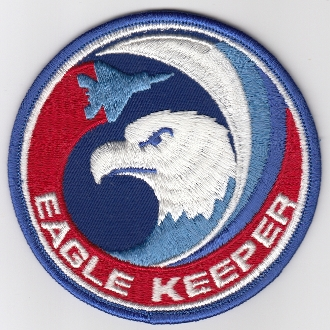 USAF Patch Fighter USAFE 32 TFS Tactical Ftr Squadron h F 15 MUa