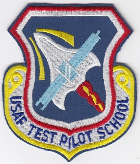 USAF Patch Test Aircraft Test Pilot School Edwards AFB