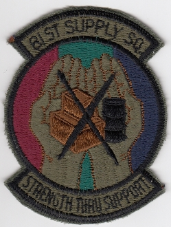 USAF Patch Fighter USAFE 81 TFW Tactical Ftr Wing g A 10 m SS sa