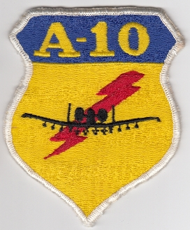 USAF Patch Fighter USAFE 81 TFW Tactical Ftr Wing g A 10 i a4b