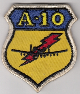 USAF Patch Fighter USAFE 81 TFW Tactical Ftr Wing g A 10 i b3a