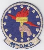 USAF Patch Fighter USAFE 48 TFW Tactical Ftr Wing F100 s OMS a