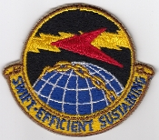 USAF Patch Bomb 306 Bombardment Wing SS Supply Squadron  B 47