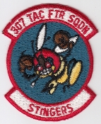 USAF Patch Fighter 307 TFS Tactical Ftr Squadron F 4 Phantom