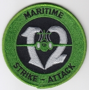 RAF Patch 12 Squadron Royal Air Force Buccaneer Maritime Strike