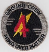 RAF Patch 4 Squadron Royal Air Force Harrier GR 3 Ground Crew b