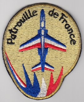French Air Force ALA Patch Display Patrouille De France Team b
