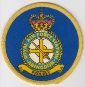 RAF Patch Royal Air Force Station Abingdon Crest