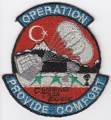 USAF Patch Airlift USAFE o Operation Provide Comfort I Iraq 1991