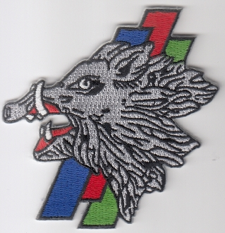 French Air Force ALA Patch Ftr cb 3 3 EC Escadron Chasse d