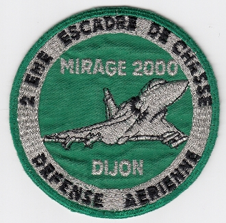 French Air Force ALA Patch Ftr ba 2 EC Escadre De Chasse Wing b