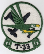 USAF Patch Fighter b 49 FIS Interceptor Squadron T 33 T Bird a